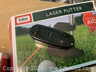Golf Laser Putter Training Aid (J203)