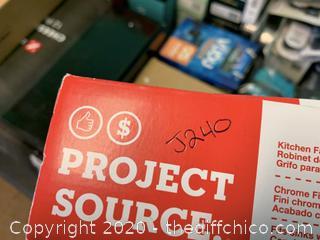 Project Source 075657 Faucet (J240)