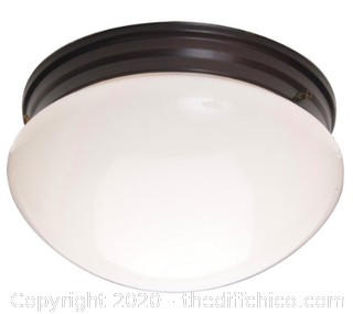Maxim 5881WTOI Essentials - 588x 2 Light 9 inch Oil Rubbed Bronze (J264)