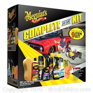NEW Meguiar's® Complete Car Care Kit – Premium Detailing Kit
