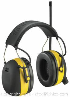 NEW 3M TEKK WorkTunes Hearing Protector, MP3 Compatible with AM/FM Tuner