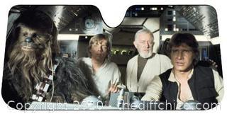 *NEW* Plasticolor Star Wars Accordion Sunshade