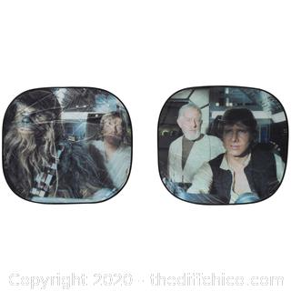 *NEW* Star Wars Millennium Falcon Auto Springshade 2 pc