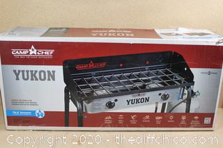 NEW ($189.99)  STOVE CAMPING 2 BURNER PROPANE Gas Outdoor Portable Cooking BBQ Hiking Camp Chef