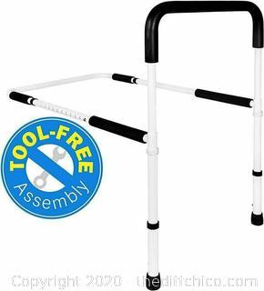 Vaunn Medical Adjustable Bed Assist Grab Bar Rail Handle