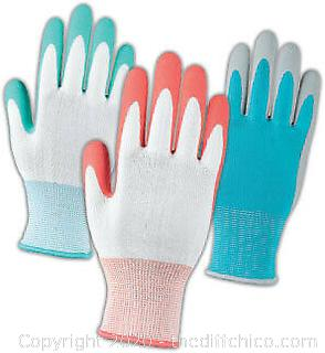 10 Pairs BBH Gardening Gloves with Latex Coating One Size NEW