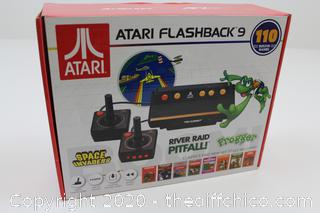 ATARI FLASHBACK 9 VIDEO GAME CONSOLE WITH 110 BUILT-IN GAMES NEW SPACE INVADERS