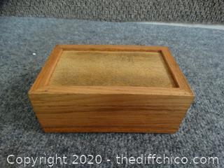Wood Tobacco Box