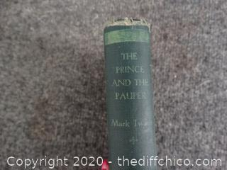 1931 Prince And The Pauper Book Mark Twain