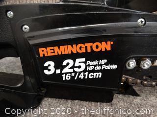 """Remington 16"""" Bar wks"""