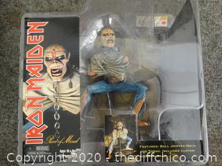Iron Maiden Series 1 Piece Of Mind Figurine NIB