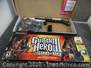 Guitar Hero 3 missing Game