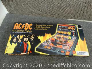 AC/DC Electric Pinball Game NIB