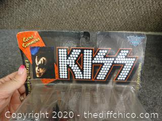 Gene Simmons  Kiss Figurine NIB