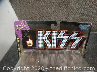 Paul Stanley  Kiss Figurine NIB