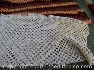 2 Crochet Blankets