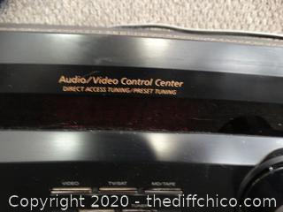 Sony Audio  Video  Control Center