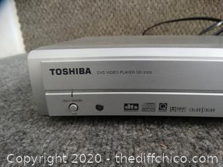Toshiba DVD Player Powers On