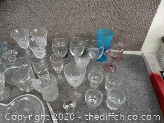 Heart Serving Dish & Glassware