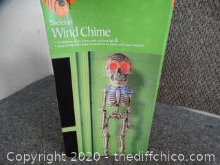Skeleton Wind Chime