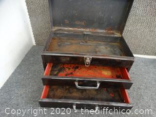 Metal Tool Box With Sealant Coat