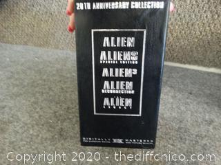 The Alien Legacy VHS