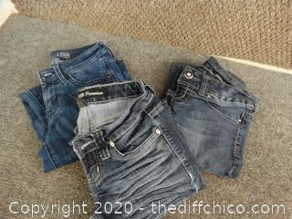 Size 0 Jeans