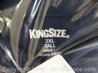 New 2XLT Long Sleeve Shirt (BLUE)