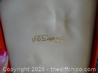 St Dupont Lighter (Heavy ) Made In France