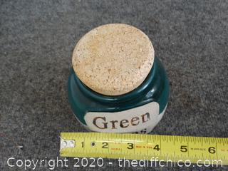 Green Fees Money Jar