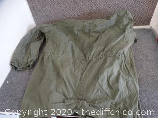 US ARMY Parka (zipper wouldnt Zip