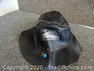 Parthnon Leather Hat