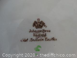Johnson  Bros Plate Made In England
