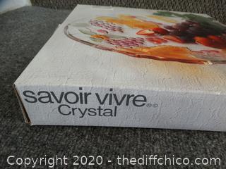 Savoir Crystal Tray