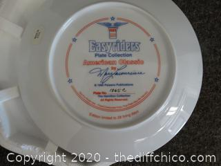 Easy Rider  Numbered Plate