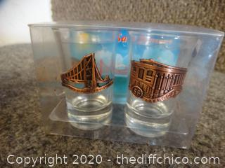 San Francisco Shot Glasses