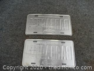 Barracuda License Plates