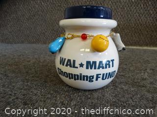 Walmart Shopping Fund Jar