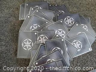 Star Wars Cards in plastic