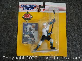 1995 Sandis Ozolinsh Figurine NIB