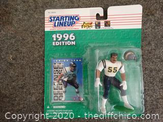1996 Junior Seau Figurine NIB