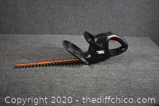 Working Black and Decker Hedge Trimmer