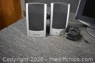 Sony Tower and Monitor, Keyboard plus Speakers