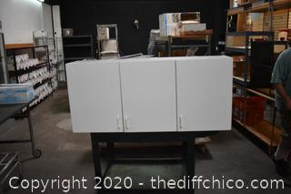 White Wall Mounted Cabinet
