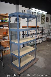 Metal 5 Shelf Unit
