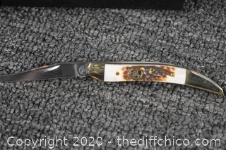 2 NIB Frost Cutlery Folding Knives