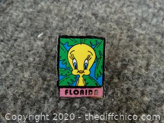 Tweedy Bird Pin