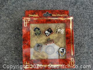 Pirates Of The Caribbean Disney Pins