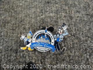 Donald Duck & Goofy Million Dreams Disney Pin
