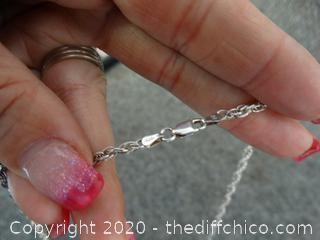 Silver Rope Chain 925